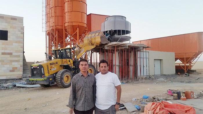 Oman concrete chiller project