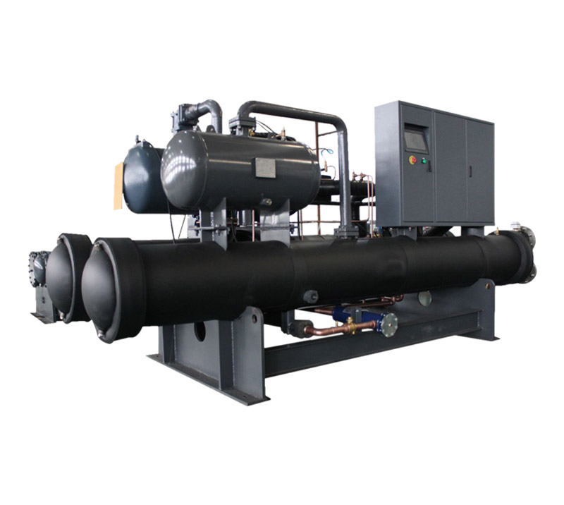 Water Cooled Screw Type Heat Pump Water Heater