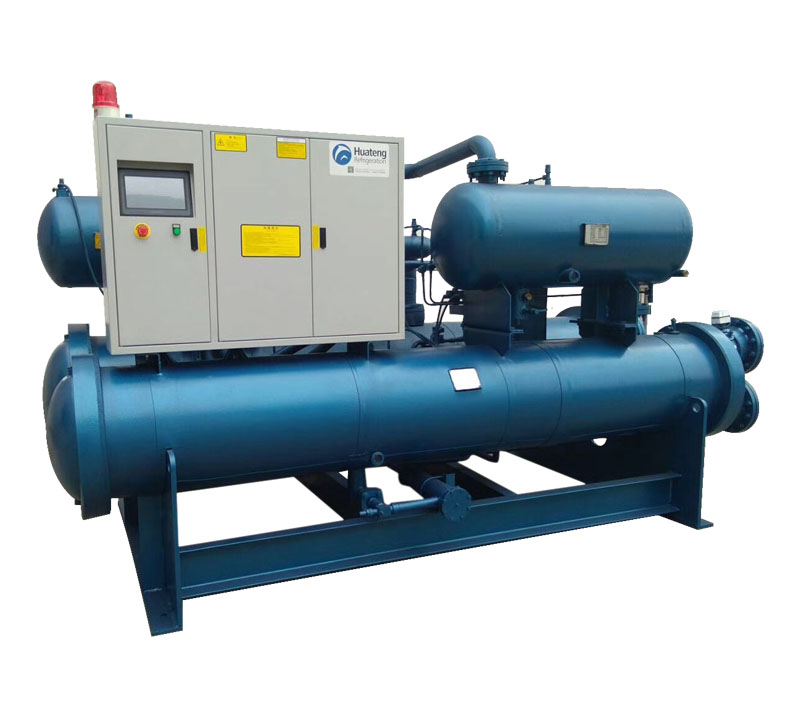 Flooded Type Screw Type Chiller