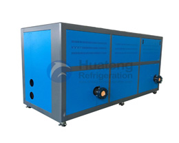 What is the Working Principle of Water Cooled Chiller Machine?