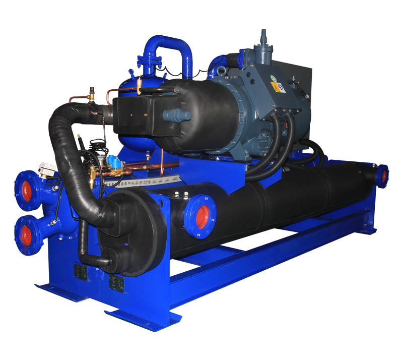 glycol low temperature water cooled type chiller