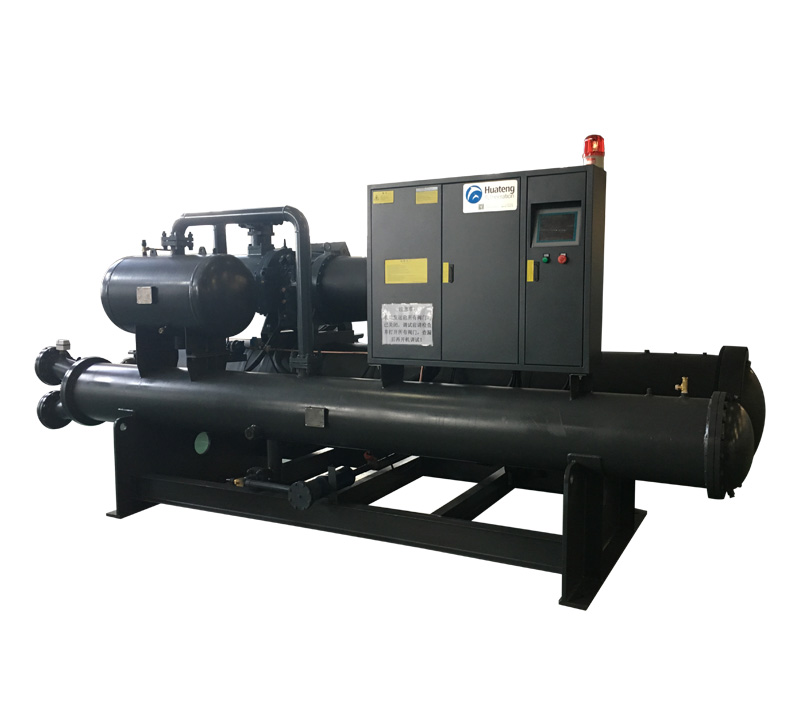 Water cooled screw chiller low temperature (-25C)