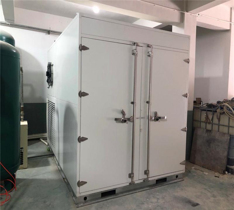 2000kg heat pump sludge dryer for electroplating sludge