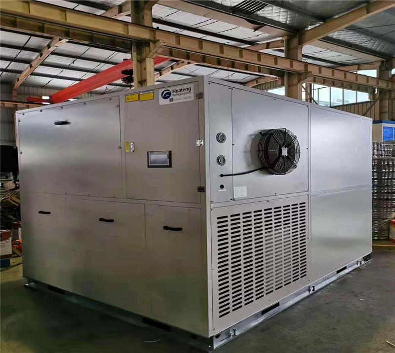 3000kg/day heat pump sludge dryer for dry oxidation sludge