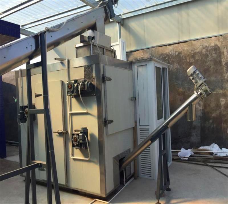 Heat pump closed belt modular sludge drying system